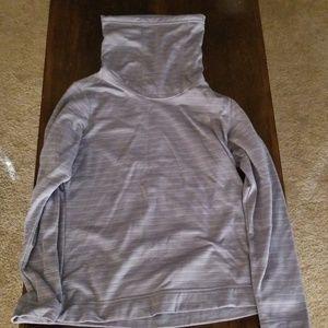 The Northface Grey Cowl Neck Sweatshirt